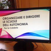 Organizzare e dirigere le scuole dell'autonomia – Per la Calabria