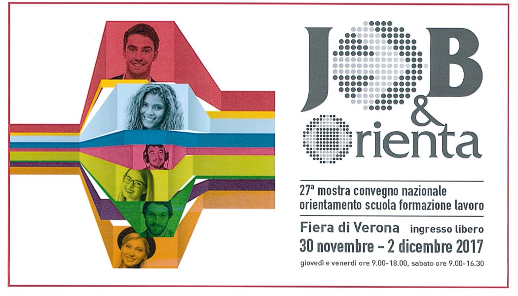 Dirscuola sarà presente al Job&Orienta a Verona 30 novembre – 2 dicembre